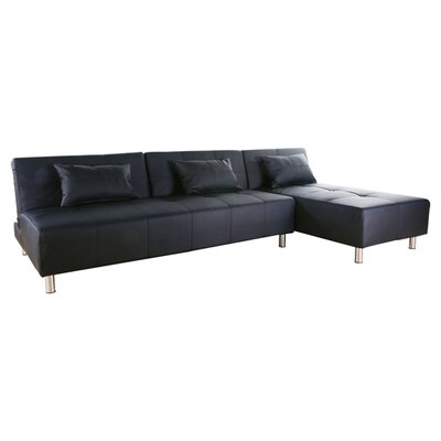 Wade Logan WADL2689 25983365 Ricardo Convertible Sectional Sofa