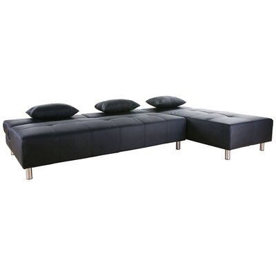 WADL2689 25983370 WADL2689 Wade Logan Ricardo Convertible Sectional Sofa
