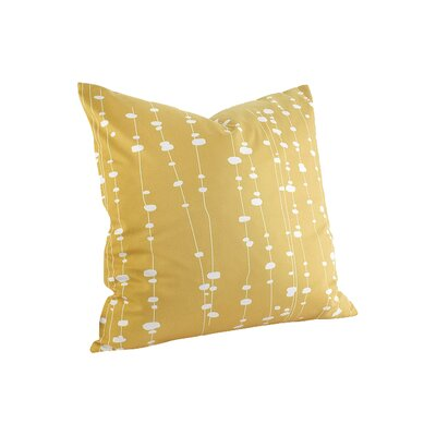 Jax Linen Throw Pillow Size: 18 x 18, Color: Sherbet