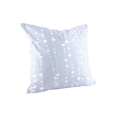 Hames Linen Throw Pillow Size: 18 x 18, Color: Ice