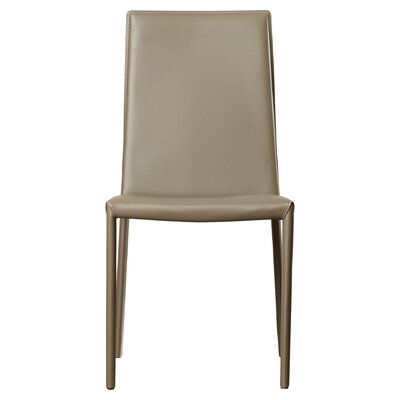 Cyrus Parsons Chair Upholstery: Charcoal