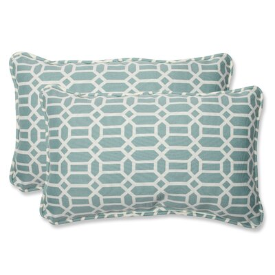 Moyer Indoor/Outdoor Throw Pillow Size: 11.5 x 18.5