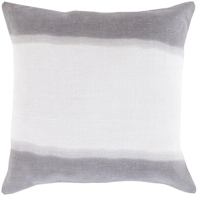 Ellington Smooth Linen Throw Pillow