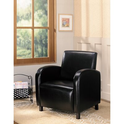 Leigh upon Mendip Arm Chair Color: Dark Brown