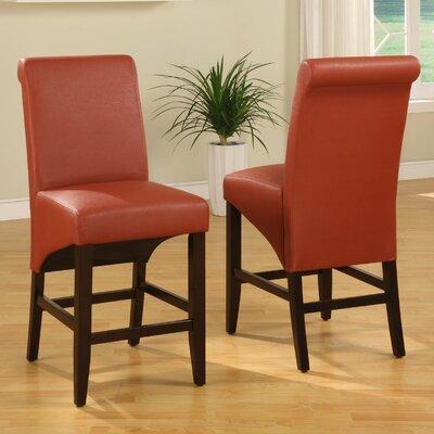 Coombe Dingle 25 Bar Stool Upholstery: Sienna