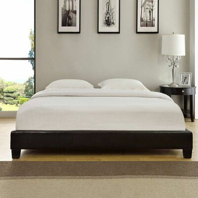 Isa Upholstered Platform Bed Size: California King
