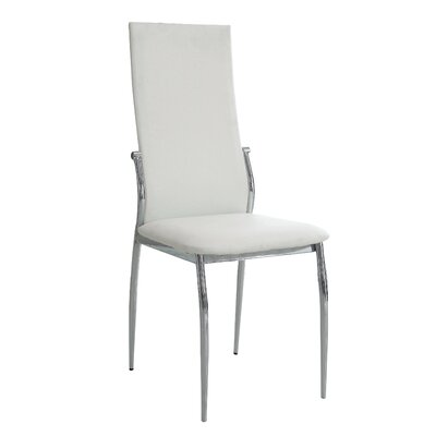 Jaxson Side Chair Finish: White