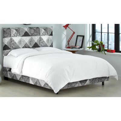 Edler Upholstered Panel Bed Size: King