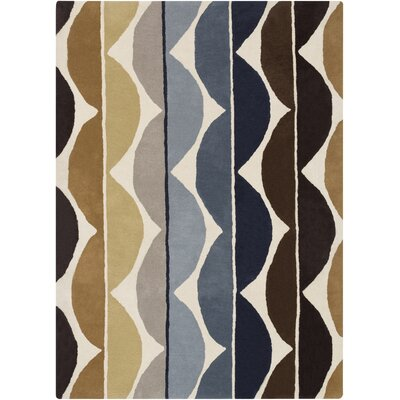 Zayne Brown Area Rug Rug Size: 2 x 3