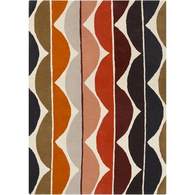 Zayne Beige Area Rug Rug Size: Rectangle 5 x 8