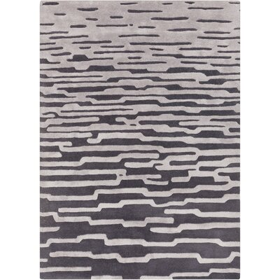 Bates Hand Tufted Gray Area Rug