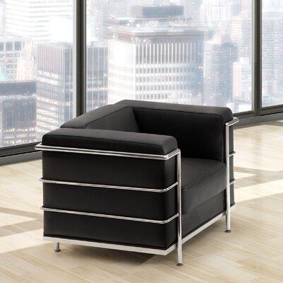 Frye Armchair Upholstery: Black