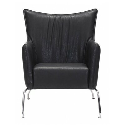 Coeburn Occasional Armchair Color: Black