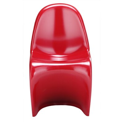 English Side Chair Finish: Red