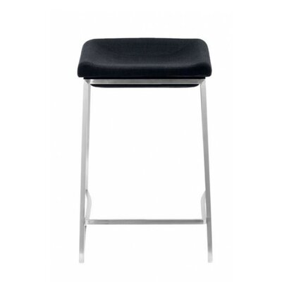 Darby 24.4 Bar Stool Upholstery: Dark Gray