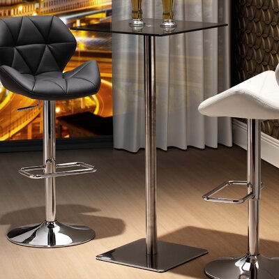 Paulina Pub Table Finish: Black