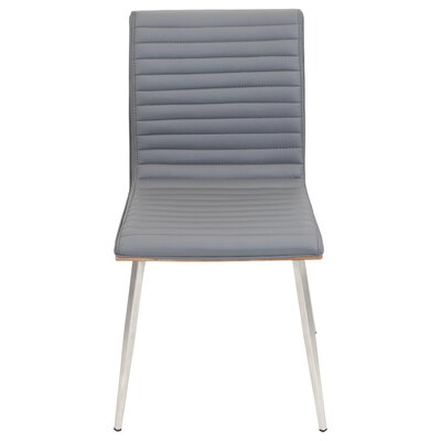 Jacque Side Chair Upholstery: Grey