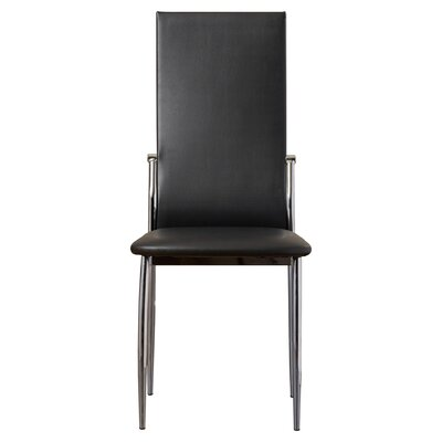 Jaxson Side Chair Finish: Black