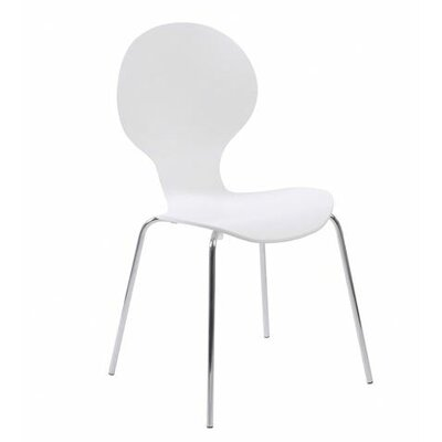 Abe Side Chair Finish: White