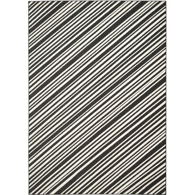 Shaun Black Indoor/Outdoor Area Rug Rug Size: 8 x 112