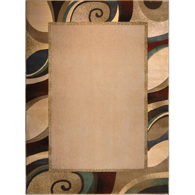Dufresne Cream/Gray Area Rug Rug Size: 710 x 106