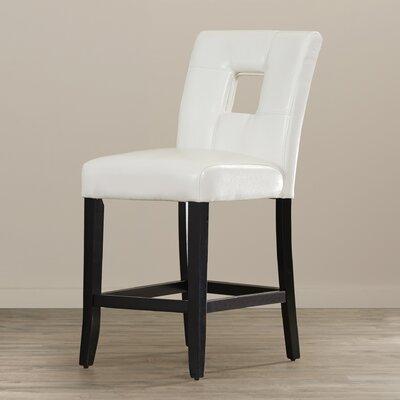 Atauro Island 24 Bar Stool Upholstery: White