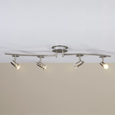 Laverton 4-Light Fixed Full Track Lighting Kit