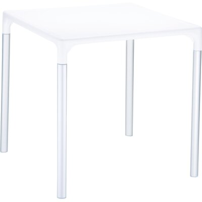 Benavides Bistro Table Finish: White
