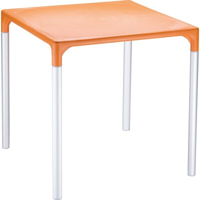 Benavides Bistro Table Finish: Orange