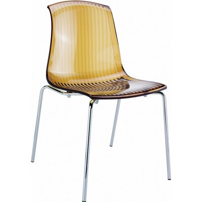 Arledge Indoor Side Chair (Set of 4) Finish: Transparent Amber