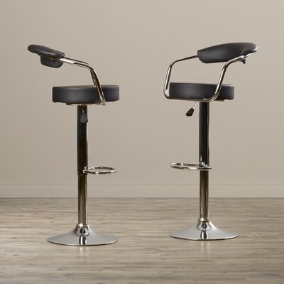 Wilbur Adjustable Height Swivel Bar Stool