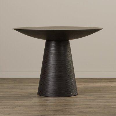 Dunlap Oak Dining Table Finish: Black Oak, Size: Medium