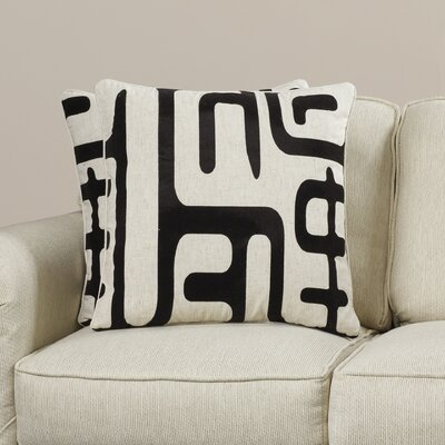 Linen/Cotton Blend Throw Pillow Size: 22 H x 22 W