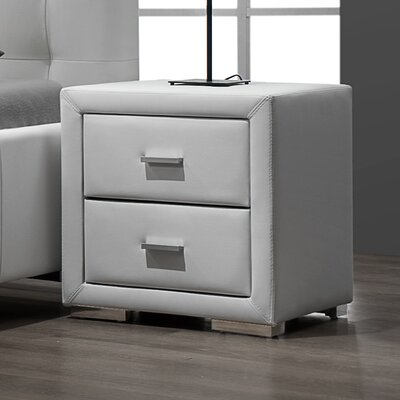 Bollman 2 Drawer Nightstand