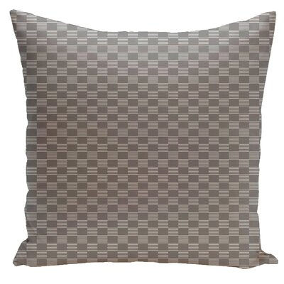 Dalton Geometric Throw Pillow Size: 18 H x 18 W, Color: Classic Grey
