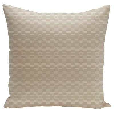 Dalton Throw Pillow Size: 18 H x 18 W, Color: Oatmeal