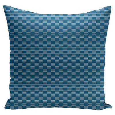Dalton Throw Pillow Size: 16 H x 16 W, Color: Peacock