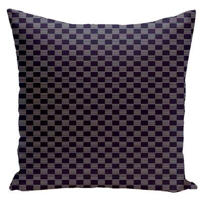 Dalton Throw Pillow Size: 16 H x 16 W, Color: Spring Navy