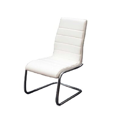 Randal Side chair Upholstery: White