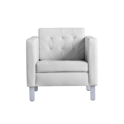 Cuevas Pen Arm Chair Upholstery: Ivory