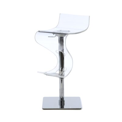 Anthony Adjustable Height Swivel Bar Stool