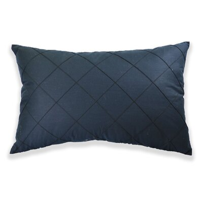 Edgar Throw Pillow Color: Black
