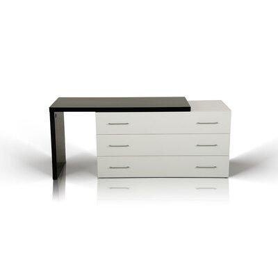 Clower Contemporary 3 Drawer Dresser