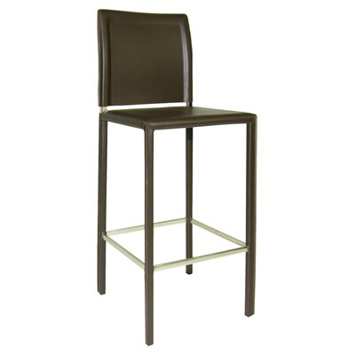 Icenhour 29 Bar Stool Finish: Charcoal