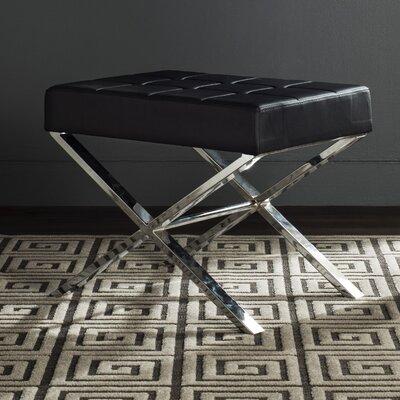 Cochran Ottoman Upholstery: Black