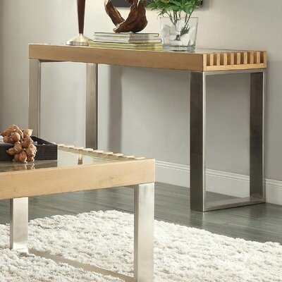 Jonestown Console Table Finish: Natural
