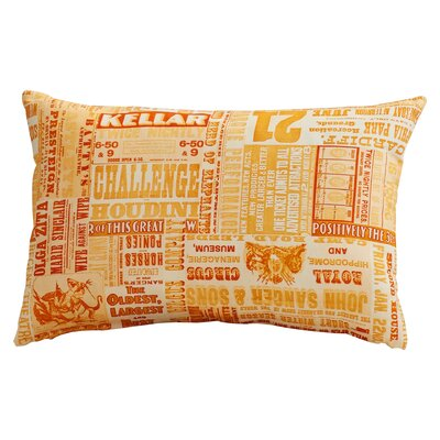 Canonsburg Lumbar Pillow Color: Poppy/Burnt Orange/Peach/Pastel Pink/Burnt Orange