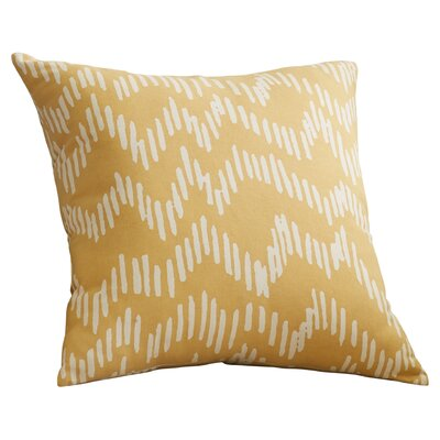 Ochoa 100% Cotton Throw Pillow Size: 22 H x 22 W x 4 D, Color: Mocha / Beige