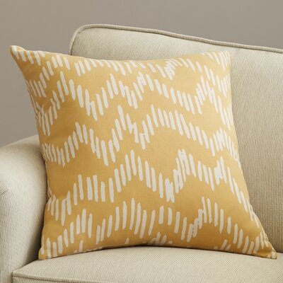 Ochoa 100% Cotton Throw Pillow Size: 18 H x 18 W x 4 D, Color: Mocha / Beige