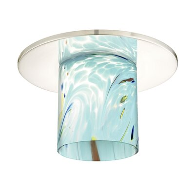 Contemporary 11 Glass Drum Lamp Shade